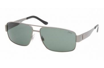 Polo PH 3054 Sunglasses Styles - Brushed Gunmetal Green Frame, 900271-6014
