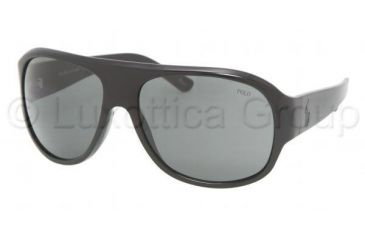 Polo PH 4052 Sunglasses Styles -  Shiny Black Gray Frame, 500187-6316