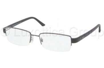 Polo PH1097 Progressive Prescription Eyeglasses 9157-5518 - Dark Gunmetal
