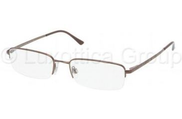 Polo PH1116 Progressive Prescription Eyeglasses 9013-5318 - Brown Frame