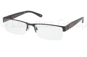 Polo PH1117 Eyeglass Frames 9038-5417 - Matte Black Frame