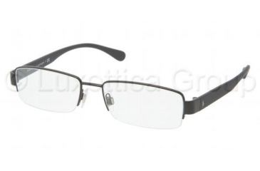 Polo PH1118 Single Vision Prescription Eyeglasses 9038-5217 - Matte Black Frame