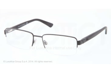 Polo PH1143 Eyeglass Frames 9038-53 - Matte Black Frame