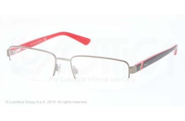 Polo PH1143 Eyeglass Frames 9050-53 - Mat Gunmetal Frame