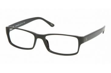 Polo Sport PH2065 #5001 - Shiny Black Frame, Demo Lens Lenses