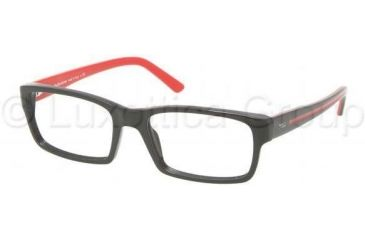 Polo PH2072 Bifocal Prescription Eyeglasses 5001-5217 - Shiny Black