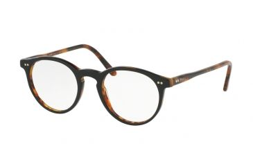 717130a4e22 Polo PH2083 Prescription Eyeglasses 5260-48 - Top Black Havana Frame