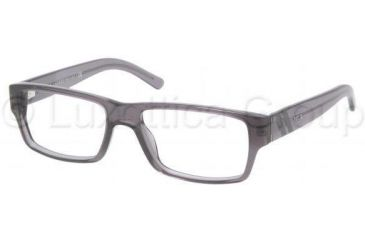 Polo PH2085 Eyeglass Frames 5195-5216 - Dark Gray Transparent Frame