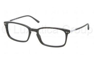 Polo PH2088 Single Vision Prescription Eyeglasses 5001-5118 - Shiny Black Frame