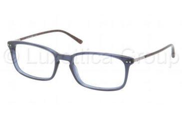 Polo PH2088 Single Vision Prescription Eyeglasses 5369-5118 - Dark Steel Frame