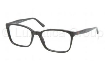 Polo PH2090 Eyeglass Frames 5001-5118 - Shiny Black Frame