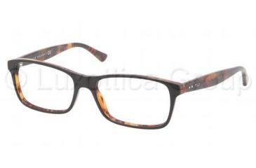 Polo PH2094 Eyeglass Frames 5383-5316 - Top Black On Tortoise Frame, Demo Lens Lenses