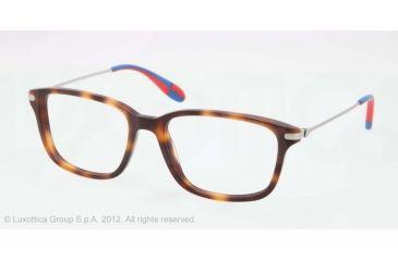 Polo PH2105 Eyeglass Frames 5303-51 - J.C. Tortoise Frame, Demo Lens Lenses
