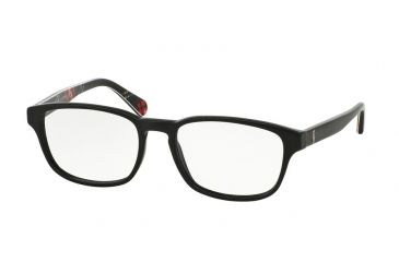 2d63ff89ae5a Polo PH2124 Bifocal Prescription Eyeglasses 5493-55 - Vintage Black Frame