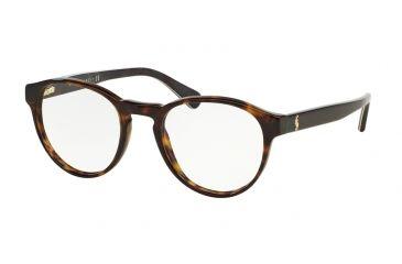 d5978ed3b2 Polo PH2128 Eyeglass Frames 5491-48 - Dark Havana Frame