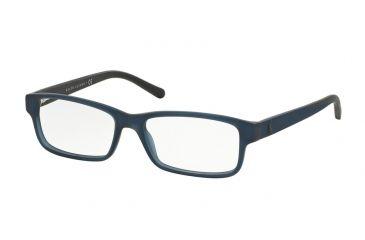Glasses Frames Crystal Matte : Polo PH2132 Single Vision Prescription Eyeglasses