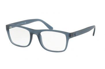 dc2ca4334e Polo PH2161 Eyeglass Frames 5612-53 - Matte Trasp Navy Blue Frame