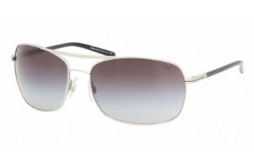 Polo Sport PH3050 #90018G - Matte Silver Frame, Gray Gradient Lenses
