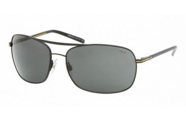 Polo Sport PH3050 #903887 - Matte Black Frame, Gray Lenses