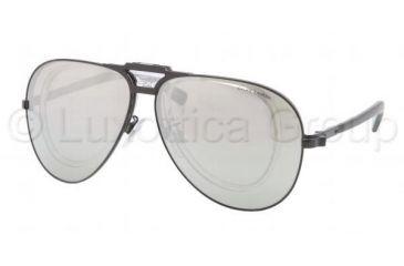 Polo PH3075 Sunglasses 90036G-6211 - Shiny Black Frame, Silver Mirror Lenses
