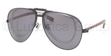 Polo PH3075 Sunglasses 922481-6211 - Matte Black Frame, Polarized Gray Lenses