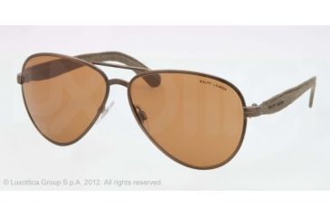 Polo PH3082 Bifocal Prescription Sunglasses PH3082-924673-61 - Lens Diameter 61 mm, Lens Diameter 61 mm, Frame Color Bronze/gold Vintage Effect