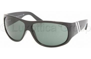 Polo PH4057 Sunglasses 500171-6512 - Shiny Black Gray Green