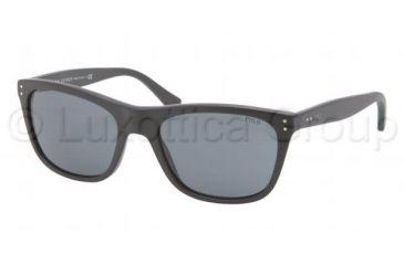 Polo PH4071 Sunglasses 528487-5519 - Matte Black Frame, Grey Lenses