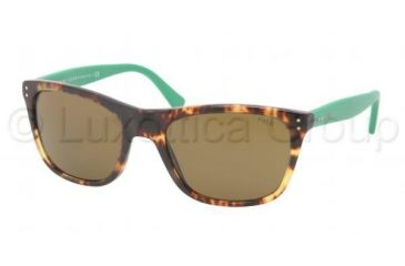 Polo PH4071 Sunglasses 538473-5519 - New Havana Frame, Jerry Brown Lenses