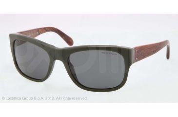 Polo PH4072 Sunglasses 543387-57 - Forest Green Vintage Frame, Grey Lenses