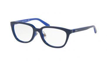 Bright Blue Glasses Frames : Polo PP8528 Progressive Prescription Eyeglasses New ...