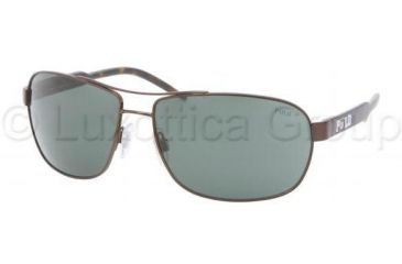 Polo Sunglasses PH3053 901371-6415 - Brown Green