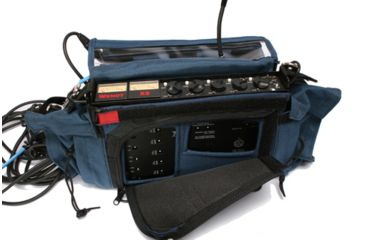 PortaBrace MXC-X4 Audio Combination Mixer Case - Blue