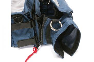 PortaBrace Audio Gear Organizer Case AOB2 - Blue