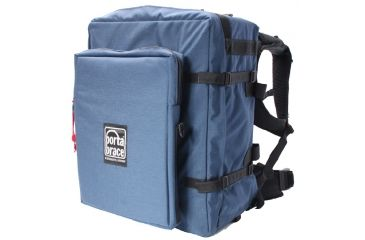 Porta-Brace BK-3EXL Modular Camera Case Backpack Extreme - with HD Laptop Module - Blue