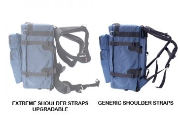 Porta Brace BK3LCL Modular Backpack Video Camera Case, Large, with Laptop Module and Standard Straps - Blue