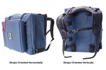 Porta-Brace Modular Backpack and Case, Large, with Laptop Module and Standard Straps - Blue BK-3LCL