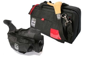 Portabrace CS-DV4RQS-M4 Large Mini-DV Camera Case w/ Quick Slick Mini-Rain Slicker - Black