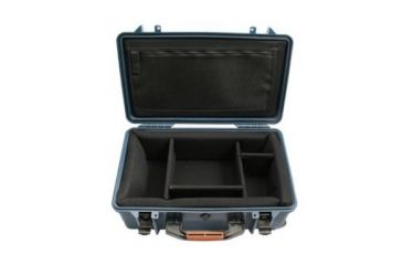 PortaBrace SuperLite Hard Case w/ Wheels and Divider Kit PB2550DK