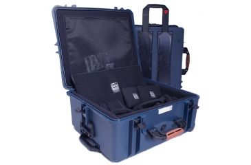 PortaBrace Super-Lite Hard Case w/ Wheels and Divider Kit PB-2750DK