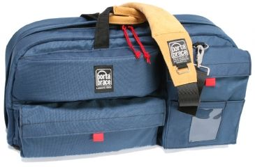 PortaBrace Travelers Camera Case - CTC-4 Blue