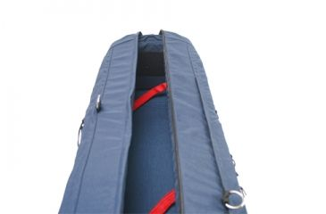 PortaBrace Wheeled Shell Pack Case - 46 inch - Blue TS-46BOR