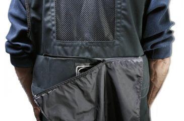 Porta Brace Video Vest, Large with Hood - Black