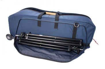 PortaBrace Wheeled Run Bag Case WRB3OR