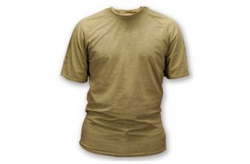 Potomac Field Gear Shirt, LG Sand Short Sleeve, Coyote, Large ML632SL