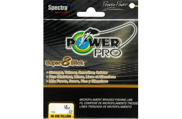 Power Pro Super 8 Slick Yellow 150 yds. - 40 lb. Test, Yellow 067177