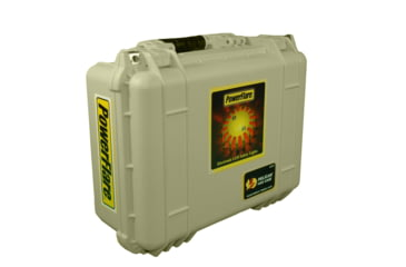 Powerflare PF-200 Multipack - 24 Units in Various LED Colors,24 Batteries,Tan Case MULTIPACK24-T
