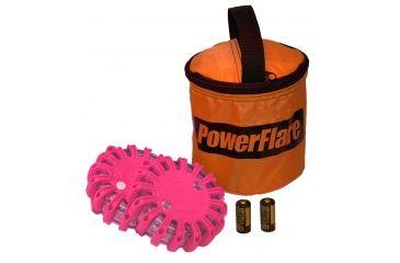 Powerflare PF-200 Softpack,  2 Safety Lights,Infrared LED,Orange Bag,2 Batteries, Hot Pink Shell SP2O-I-HP