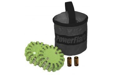 Powerflare PF-200 Softpack,  2 Safety Lights,Infrared LED,Black Bag,2 Batteries, Olive Drab Shell SP2BK-I-OD