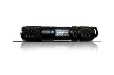 PowerTac T1A LED Flashlight 135 Lumens CREE XM-L, 1 x AA, Black POWERTAC-T1A
